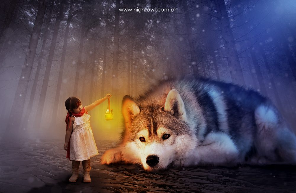 little-red-riding-hood-and-the-wolf-photo-manipulation-by-nightowl-digital-photography-and-designs
